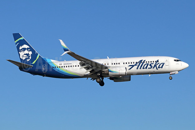 Alaska Airlines Boeing 737-890 SSWL N526AS (msn 35196) SNA (Michael B. Ing). Image: 941630.