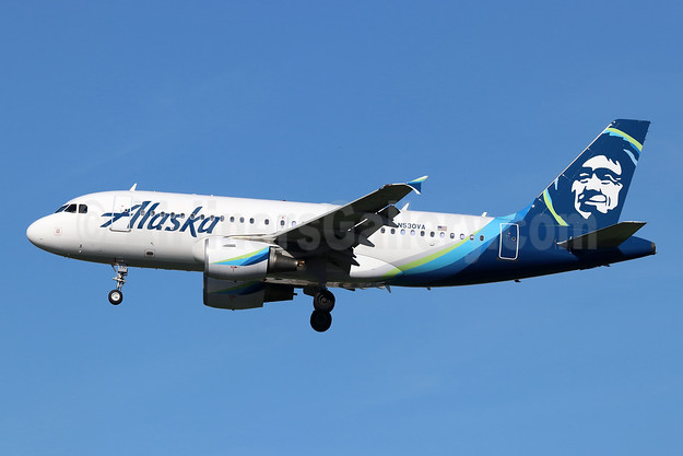 Alaska Airlines Airbus A319-112 N530VA (msn 3686) LAX (Michael B. Ing). Image: 945344.