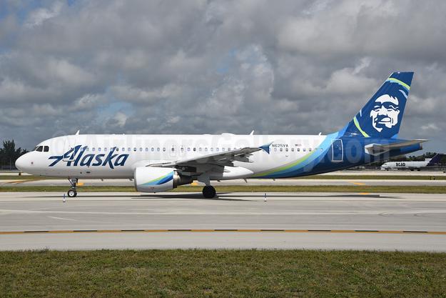 Alaska Airlines Airbus A320-214 N625VA (msn 2800) FLL (Bruce Drum). Image: 104579.