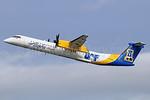 Alaska Horizon (Horizon Air) Bombardier DHC-8-402 (Q400) N441QX (msn 4348) (Alaska Nanooks) ANC (Michael B. Ing). Image: 938048.