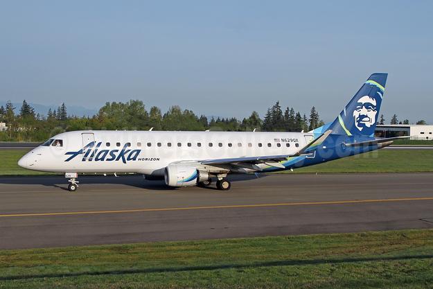Alaska Horizon (Horizon Air) Embraer ERJ 170-200LR (ERJ 175) N629QX (msn 17000683) PAE (Nick Dean). Image: 947300.