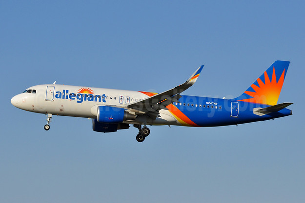 Allegiant Air Airbus A320-214 WL N247NV (msn 7704) BWI (Tony Storck). Image: 941920.