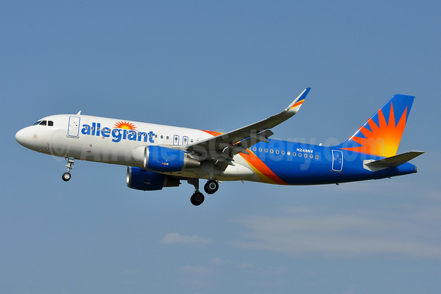 Allegiant Air Airbus A320-214 WL N248NV (msn 7781) BWI (Tony Storck). Image: 941921.
