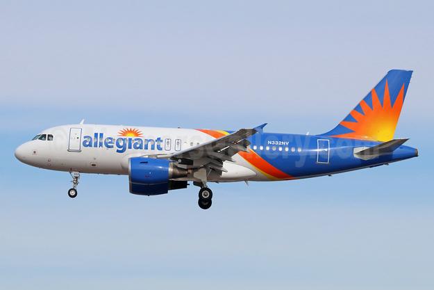 Allegiant Air Airbus A319-112 N332NV (msn 2638) LAX (Michael B. Ing). Image: 940552.
