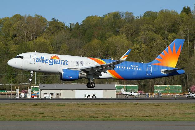 Allegiant Air Airbus A320-214 WL N252NV (msn 7868) BFI (Nick Dean). Image: 949885.