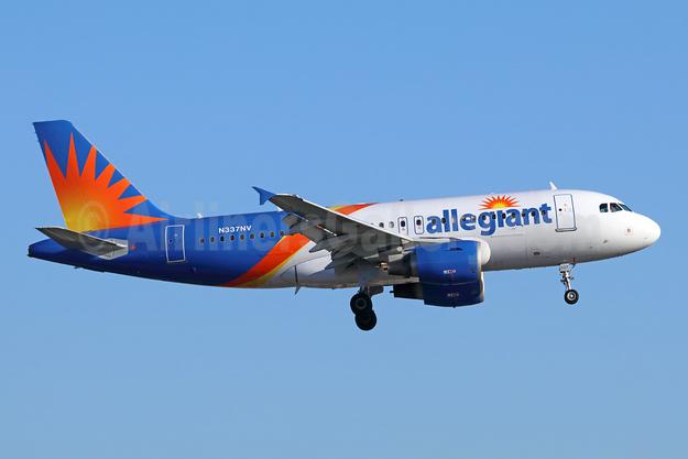 Allegiant Air Airbus A319-111 N337NV (msn 2170) LAX (Michael B. Ing). Image: 942450.