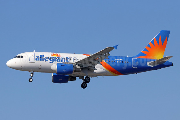 Allegiant Air Airbus A319-111 N317NV (msn 2477) LAX (Michael B. Ing). Image: 944029.
