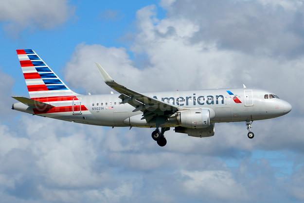 American Airlines Airbus A319-115 WL N9021H (msn 6277) MIA (Jay Selman). Image: 403757.