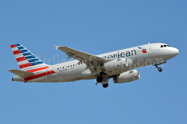 American Airlines Airbus A319-132 N803AW (msn 931) CLT (Jay Selman). Image: 403919.