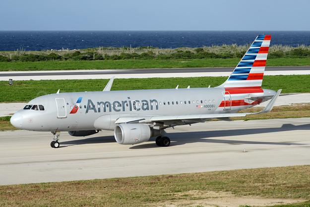 American Airlines Airbus A319-115 WL N9008U (msn 5786) CUR (Ton Jochems). Image: 938469.