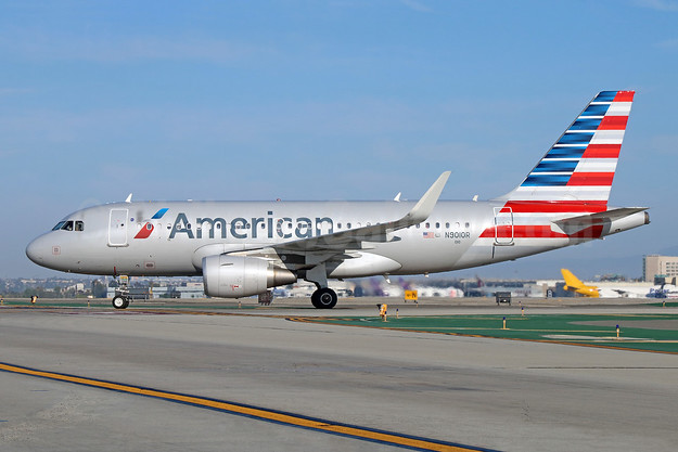 American Airlines Airbus A319-115 WL N9010R (msn 5789) LAX. Image: 942059.