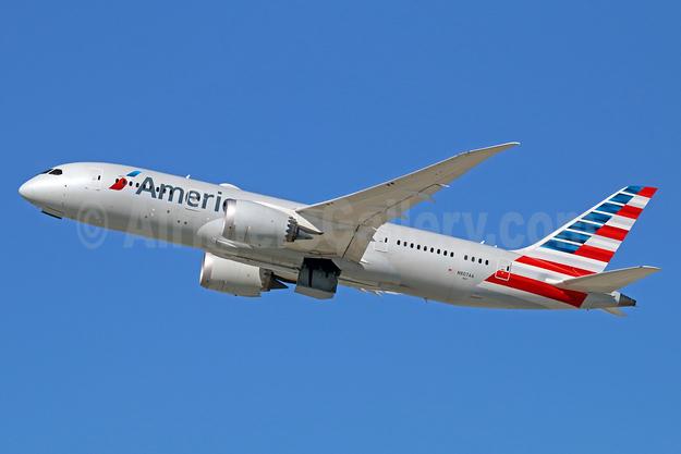 American Airlines Boeing 787-8 Dreamliner N807AA (msn 40625) LAX (Michael B. Ing). Image: 933327.