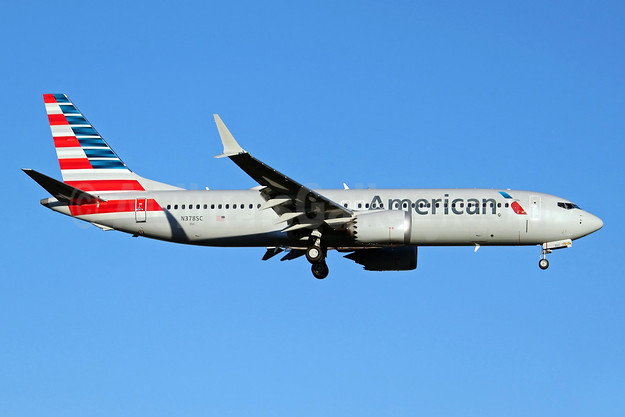 American Airlines Boeing 737-8 MAX 8 N378SC (msn 44471) BFI (Joe G. Walker). Image: 952213.
