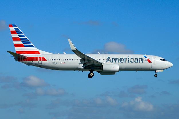 American Airlines Boeing 737-800 WL N354PT (msn 31275) MIA (Jay Selman). Image: 403715.
