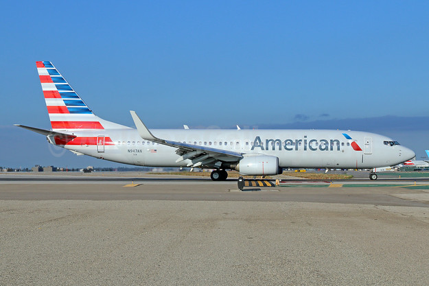 American Airlines Boeing 737-823 WL N947AN (msn 29536) LAX. Image: 933336.