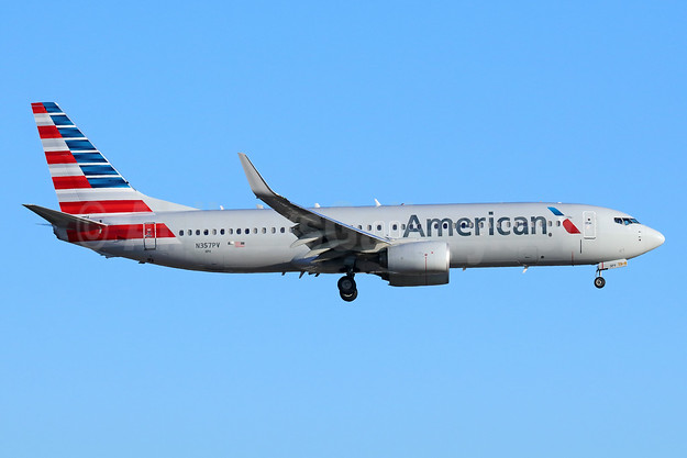American Airlines Boeing 737-800 WL N357PV (msn 31277) LAX (Michael B. Ing). Image: 942989.