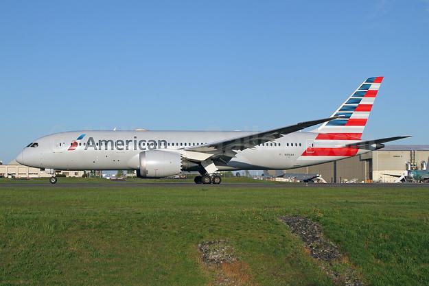 American Airlines Boeing 787-8 Dreamliner N816AA (msn 40634) PAE (Nick Dean). Image: 946295.