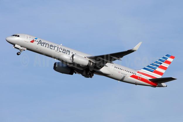 American Airlines Boeing 757-23N WL N204UW (msn 30886) BRU (Karl Cornil). Image: 927941.