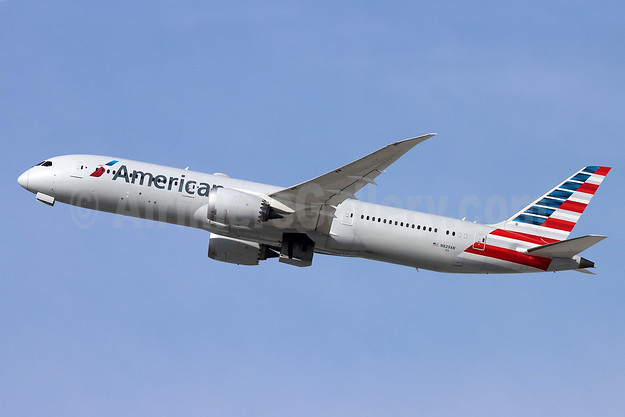 American Airlines Boeing 787-9 Dreamliner N829AN (msn 40651) LAX (Michael B. Ing). Image: 944766.