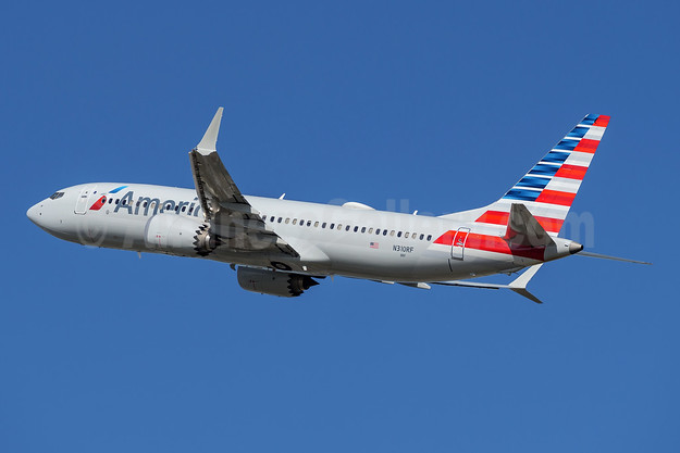 American Airlines Boeing 737-8 MAX 8 N310RF (msn 44451) FLL (Andy Cripps). Image: 945357.