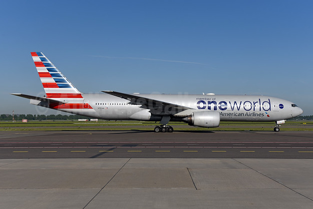 American Airlines Boeing 777-223 ER N791AN (msn 30254) (Oneworld) AMS (Ton Jochems). Image: 941955.