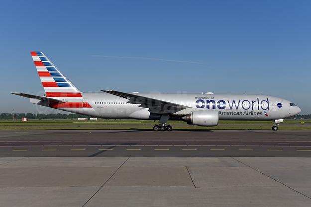 American Airlines Boeing 777-223 ER N791AN (msn 30254) (Oneworld) AMS (Ton Jochems). Image: 941955.