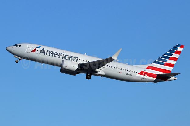 American Airlines Boeing 737-8 MAX 8 N316RK (msn 44450) LAX (Michael B. Ing). Image: 946586.