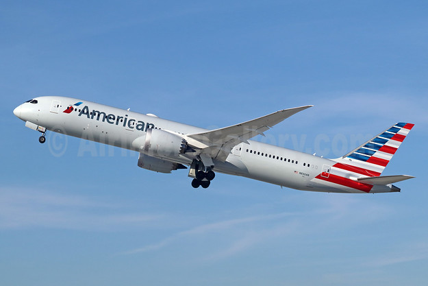 American Airlines Boeing 787-9 Dreamliner N830AN (msn 40650) LAX (Michael B. Ing). Image: 944058.