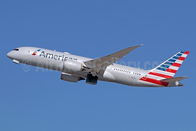 American Airlines Boeing 787-8 Dreamliner N815AA (msn 40633) LAX (Michael B. Ing). Image: 942988.