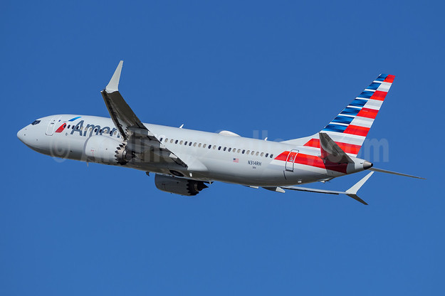 American Airlines Boeing 737-8 MAX 8 N314RH (msn 44455) FLL (Andy Cripps). Image: 945358.