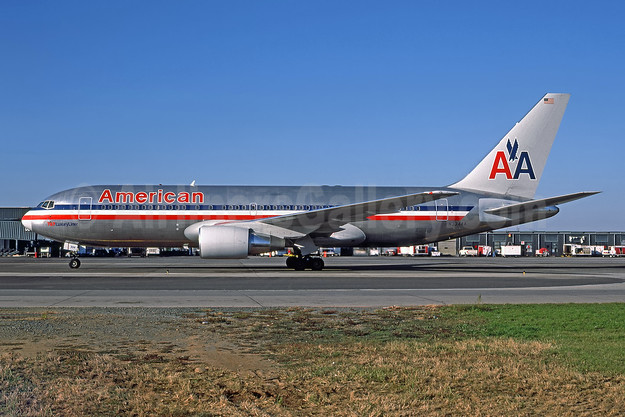 Flight AA11 BOS-LAX, hijacked and crashed into the WTC (North Tower) on September 11, 2001