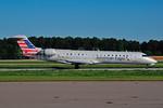 American Eagle (2nd)-Envoy Bombardier CRJ700 (CL-600-2C10) N515AE (msn 10121) RDU (Ken Petersen). Image: 930106.
