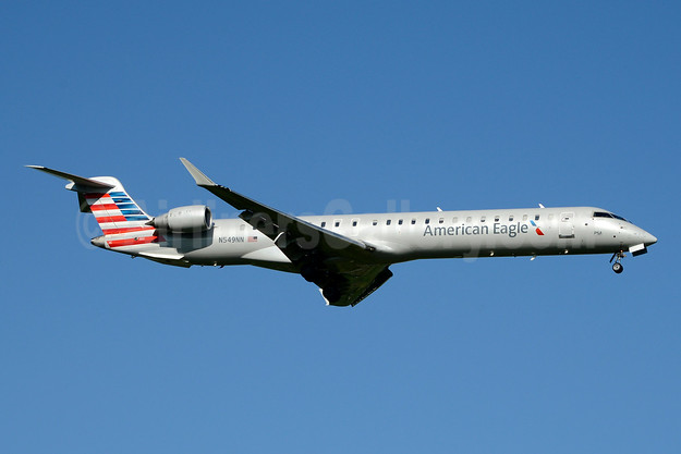 American Eagle (2nd)-PSA Airlines (2nd) Bombardier CRJ900 (CL-600-2D24) N549NN (msn 15322) CLT (Jay Selman). Image: 403729.