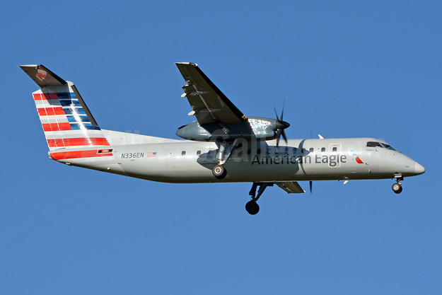 American Eagle (2nd)-Piedmont Airlines (2nd) Bombardier DHC-8-311 Dash 8 (Q300) N336EN (msn 336) CLT (Jay Selman). Image: 403769.
