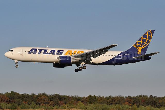 Atlas Air Boeing 767-3S1 ER N640GT (msn 25221) BWI (Tony Storck). Image: 909632.