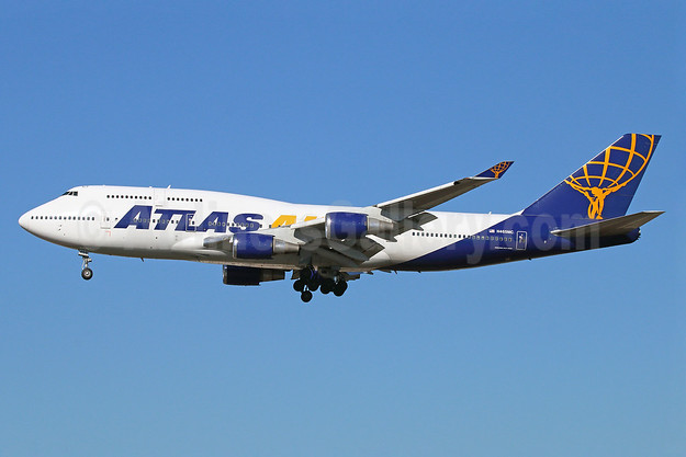 Atlas Air Boeing 747-446 N465MC (msn 24784) LAX (Michael B. Ing). Image: 921869.