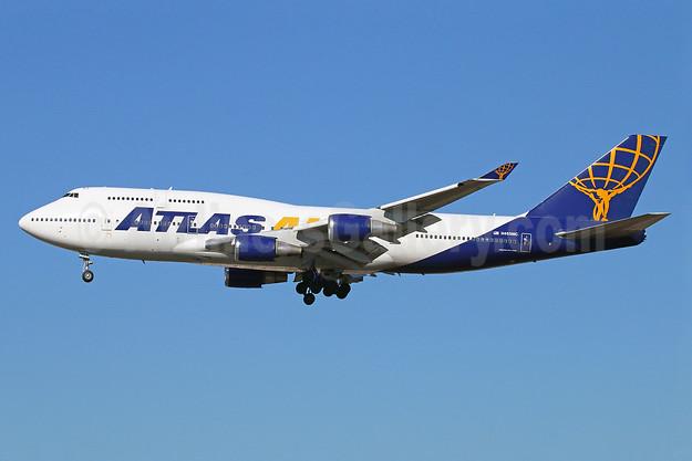 Atlas Air Boeing 747-446 N465MC (msn 24784) LAX (Michael B. Ing). Image: 921869.