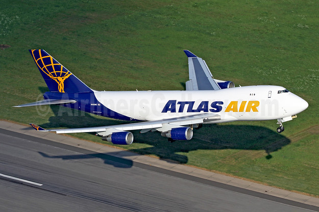 Atlas Air Boeing 747-45EF N485MC (msn 30607) HHN (Rainer Bexten). Image: 942851.