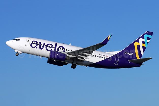 Avelo Airlines Boeing 737-7H4 WL N701VL (msn 36617) BUR (Michael B. Ing). Image: 955616.