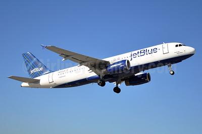 JetBlue Airways Airbus A320-232 N663JB (msn 3287) (Tartan) JFK (Stephen Tornblom). Image: 929601.
