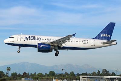 JetBlue Airways Airbus A320-232 N662JB (msn 3263) (Windowpane) LGB (Michael B. Ing). Image: 928758.