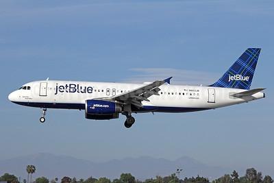 JetBlue Airways Airbus A320-232 N663JB (msn 3287) (Tartan) LGB (Michael B. Ing). Image: 929602.