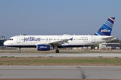 JetBlue Airways Airbus A320-232 N794JB (msn 4904) (Barcode) LGB (Michael B. Ing). Image: 931799.