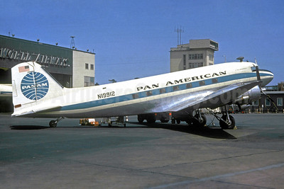 Pan American World Airways-Pan Am (1st) Douglas C-53D-DO (DC-3) N19912 (msn 11716) IDL (Christian Volpati Collection). Image: 930171.