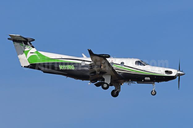 Boutique Air-BA Pilatus PC-12/45 N111WG (msn 555) BWI (Tony Storck). Image: 952739.
