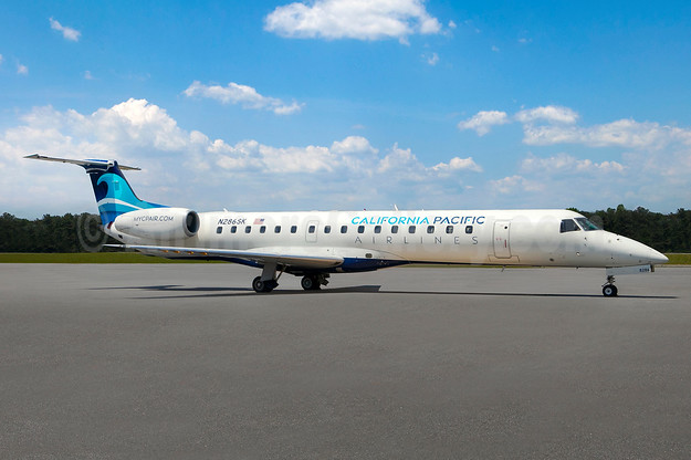 California Pacific Airlines Embraer ERJ 145 N286SK (msn 145443) (California Pacific). Image: 943324.