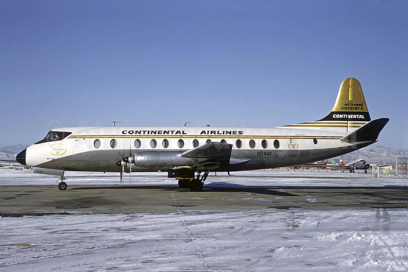 Airline Color Scheme - Introduced 1962, Best Seller