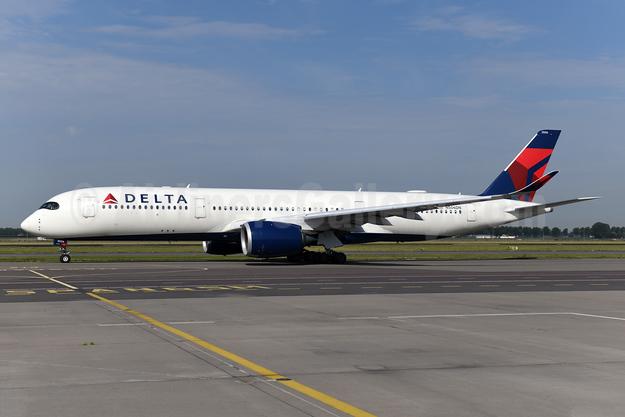 Delta Air Lines Airbus A350-941 N506DN (msn 175) AMS (Ton Jochems). Image: 950895.