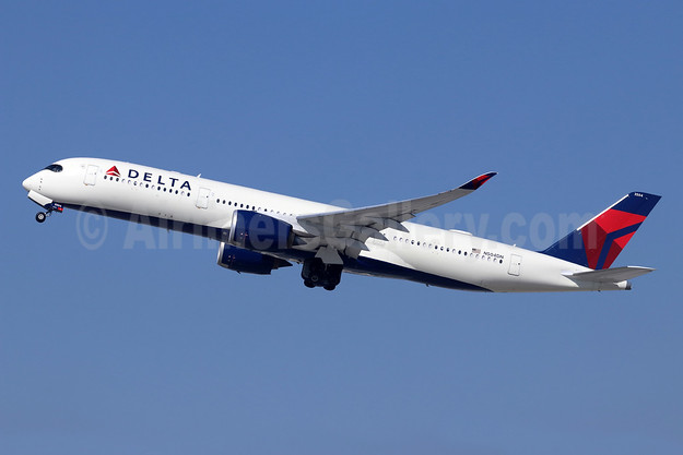 Delta Air Lines Airbus A350-941 N504DN (msn 160) LAX (Michael B. Ing). Image: 944036.