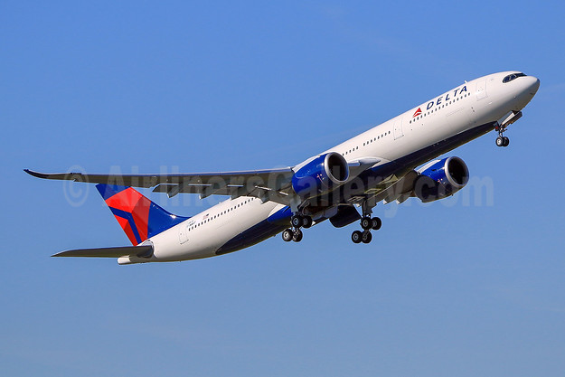 Delta's first Airbus A330neo, to become N401DZ